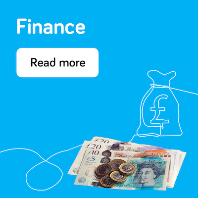 Finance - annual report 2021 - landing page