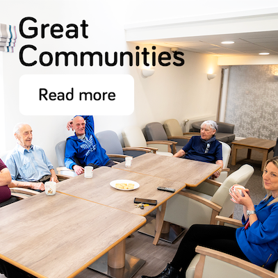 Great communities - annual report 2021 - landing page