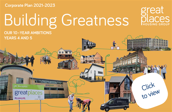 Great Places Corporate Plan 2021-2023