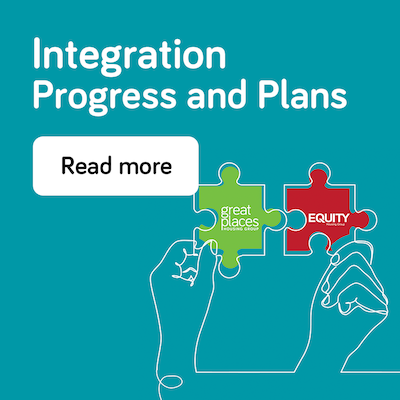 Integration progress and plans - annual report 2021 - landing page
