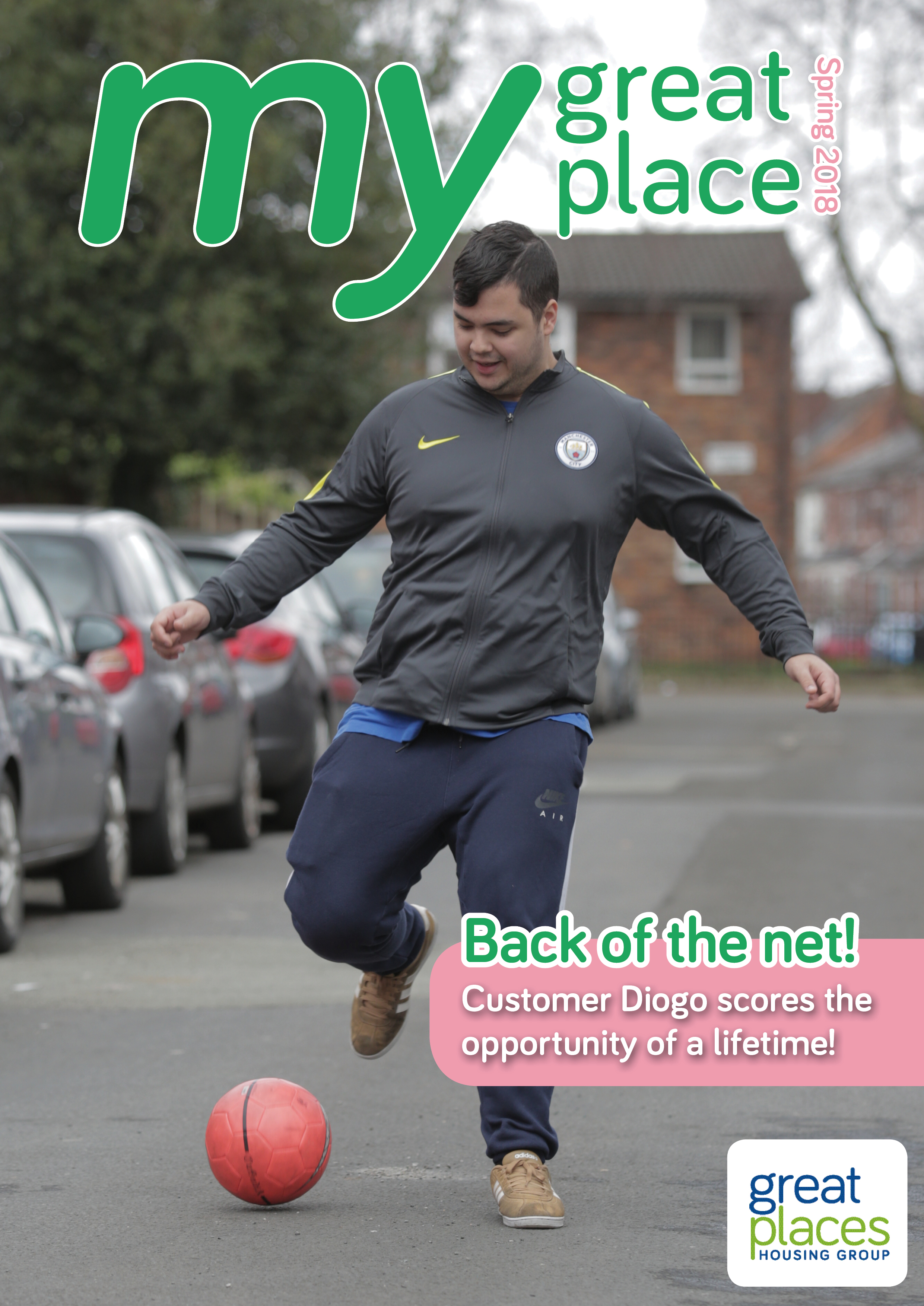 My Great Place front cover