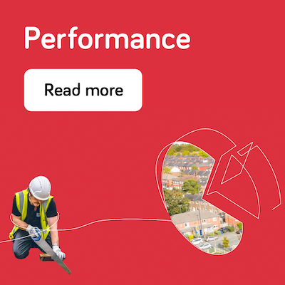 Performance - annual report 2021 - landing page