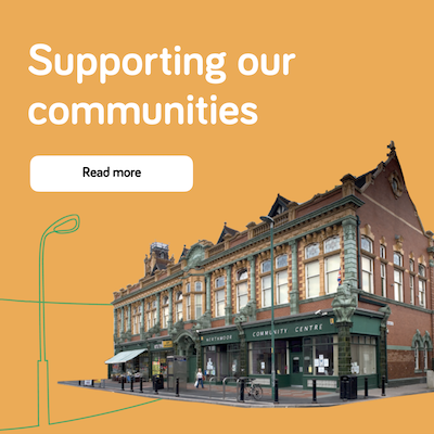 Supporting our communities