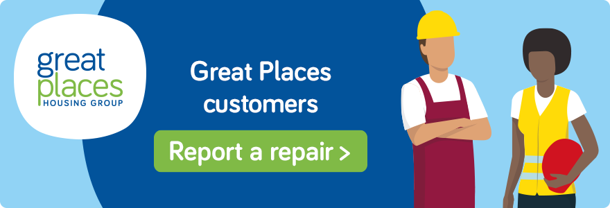Report a Repair for Great Places Customers