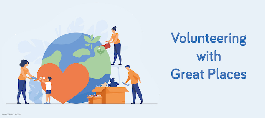 Volunteering with Great Places